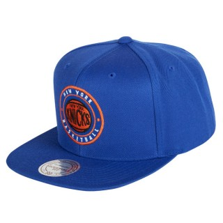 Gorra New York Knicks Hardwood Classics Circle Patch Snapback Cap Outlet España
