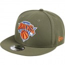 Original Gorra New York Knicks New Era Khaki Stone Team Logo 9FIFTY Snapback Cap