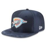 Comprar Gorra Oklahoma City Thunder New Era 2017 Official On-Court 9FIFTY Snapback Cap