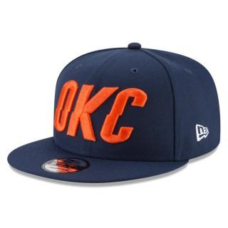 Gorra Oklahoma City Thunder New Era 9FIFTY On-Court Statement Edition Snapback Cap Ventas Baratas