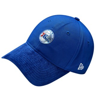 Gorra Philadelphia 76ers New Era 2017 Official On-Court 9TWENTY Adjustable Cap Venta Al Por Mayor