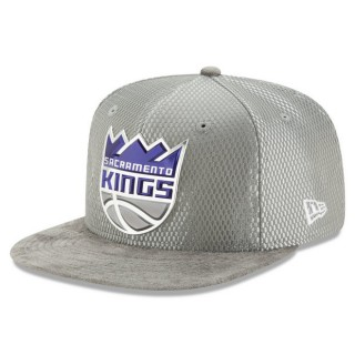 Moda Gorra Sacramento Kings New Era 2017 Official On-Court 9FIFTY Snapback Cap
