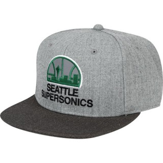Gorra Seattle Supersonics Seattle Supersonics Hardwood Classics Embroidered Logo Snapback Cap Baratas España
