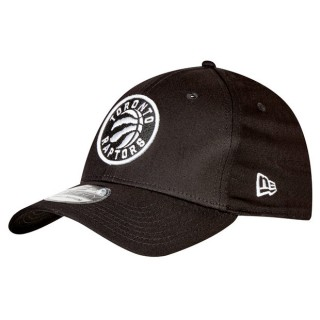 Gorra Toronto Raptors Monochrome Team Logo New Era 39THIRTY Stretch Fit Cap Promoción