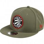 Moda Gorra Toronto Raptors New Era Khaki Stone Team Logo 9FIFTY Snapback Cap