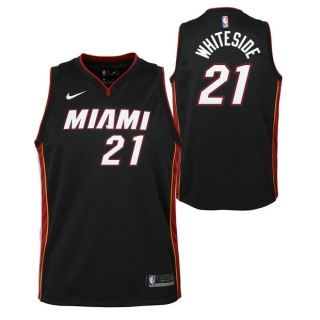 Hassan Blancoside - Adolescentes Miami Heat Nike Icon Swingman Camiseta de la NBA España