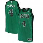 Rebajas en Hombre Boston Celtics Isaiah Thomas Kelly Green Alternate Finished Authentic Camiseta Madrid