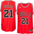 Hombre Chicago Bulls Jimmy Butler Rojo Player Swingman Camiseta Baratas Originales