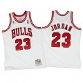 Hombre Chicago Bulls Michael Jordan Mitchell & Ness Blanco 1995-96 Hardwood Classics Authentic Camiseta Precio