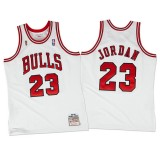 Hombre Chicago Bulls Michael Jordan Mitchell & Ness Blanco 1995-96 Hardwood Classics Authentic Camiseta Precio