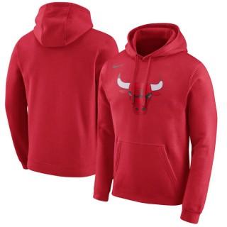 Hombre Chicago Bulls Rojo Logo Club Capucha Sitio Oficial España