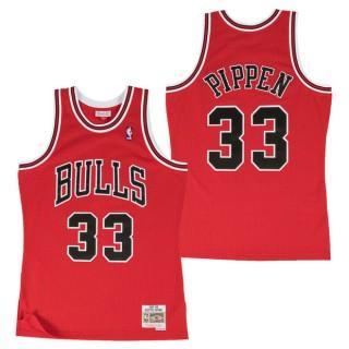 Hombre Chicago Bulls Scottie Pippen Hardwood Classics Road Swingman Camiseta en línea