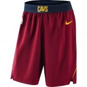 Hombre Cleveland Cavaliers GranateIcon Authentic Pantalones cortos de baloncesto Venta Al Por Mayor