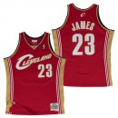Hombre Cleveland Cavaliers Lebron James #23 Hardwood Classics Road Swingman Camiseta Outlet Barcelona