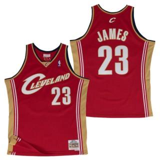 Hombre Cleveland Cavaliers Lebron James #23 Hardwood Classics Road Swingman Camiseta Outlet Barcelona