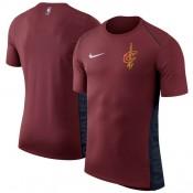 Hombre Cleveland Cavaliers Wine Elite Shooter Performance T-Shirt Código De Descuento