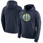 Hombre Denver Nuggets Armada Logo Club Capucha Baratas en línea
