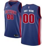 Hombre Detroit Pistons Azul Swingman Camiseta Personalizada Venta a Precios Más Bajos