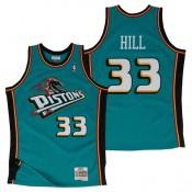 Comprar Hombre Detroit Pistons Grant Hill Hardwood Classics Road Swingman Camiseta Online
