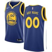 Comprar nuevo Hombre Golden State Warriors Azul Swingman Camiseta Personalizada