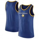 Moda Hombre Golden State Warriors Royal Logo Performance Tank Top