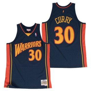 Hombre Golden State Warriors Stephen Curry #30 Hardwood Classics Road Swingman Camiseta Tienda