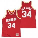 Hombre Houston Rockets Hakeem Olajuwon Hardwood Classics Road Swingman Camiseta Venta a Bajo Precio