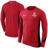 Comprar Hombre Houston Rockets Rojo Elite Shooter Performance Manga larga T-Shirt