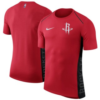 Hombre Houston Rockets Rojo Elite Shooter Performance T-Shirt Outlet España