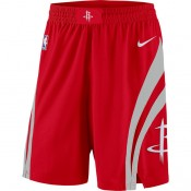 Hombre Houston Rockets Rojo Icon Swingman Pantalones cortos de baloncesto Ventas Baratas Mallorca