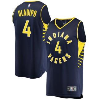 Hombre Indiana Pacers Victor Oladipo Fanatics Branded Armada Fast Break Player Camiseta Ventas Baratas Murcia