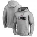 Hombre LA Clippers Heather Gris Primary Logo Sudadera con capucha Outlet Leganes