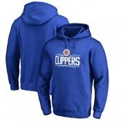 Hombre LA Clippers Royal Primary Logo Sudadera con capucha Tienda ES