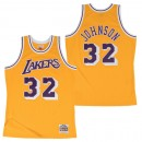 Hombre Los Angeles Lakers Magic Johnson Hardwood Classics Home Swingman Camiseta Shop España
