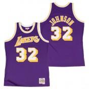 Hombre Los Angeles Lakers Magic Johnson Hardwood Classics Road Swingman Camiseta Outlet Madrid