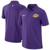 Hombre Los Angeles Lakers Púrpura Core Performance Polo Barcelona Tiendas