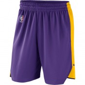 Hombre Los Angeles Lakers Púrpura Practice Performance Shorts Ofertas