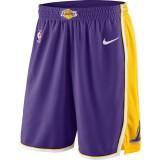 Hombre Los Angeles Lakers Púrpura Statement Swingman Pantalones cortos de baloncesto Ventas Baratas Madrid
