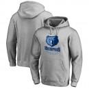Hombre Memphis Grizzlies Heather Gris Primary Logo Sudadera con capucha Espana