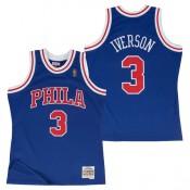 Hombre Philadelphia 76ers Allen Iverson Hardwood Classics Alternate Swingman Camiseta Madrid Precio