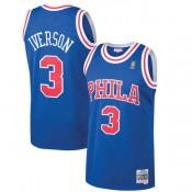 Hombre Philadelphia 76ers Allen Iverson Mitchell & Ness Royal 1996-97 Hardwood Classics Swingman Camiseta Ventas Baratas Zaragoza