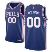 Hombre Philadelphia 76ers Azul Swingman Camiseta Personalizada Outlet Madrid