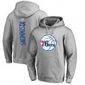 Hombre Philadelphia 76ers Ben Simmons Ash Backer Sudadera con capucha Ventas Baratas Sevilla