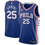 Hombre Philadelphia 76ers Ben Simmons Azul Swingman Camiseta Baratas