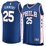 Hombre Philadelphia 76ers Ben Simmons Fanatics Branded Royal Fast Break Camiseta Rebajas