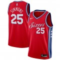 Hombre Philadelphia 76ers Ben Simmons Rojo Swingman Camiseta Statement Edition Precio Tienda