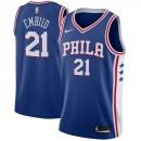 Hombre Philadelphia 76ers Joel Embiid #21 Azul Swingman Camiseta Ventas Baratas Asturias