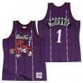 Hombre Toronto Raptors Tracy McGrady Hardwood Classics Road Swingman Camiseta Precio Barato
