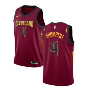 Iman Shumpert #4 Cleveland Cavaliers Granate Swingman Camiseta Outlet Store