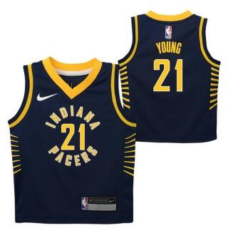 Indiana Pacers Nike Icon Replica Camiseta de la NBA - Thaddeus Young - Niño Shop España